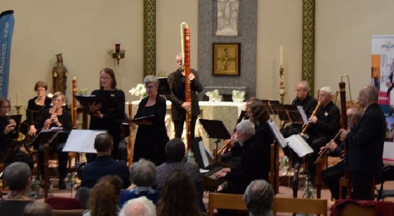 20181223 - Kerstconcert door De Houtblazers (Huizingen) en het Consort Pro Musica (Tielt)