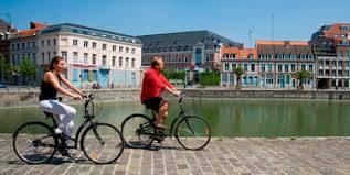 Daguitstap naar Rijsel met wagen/fiets