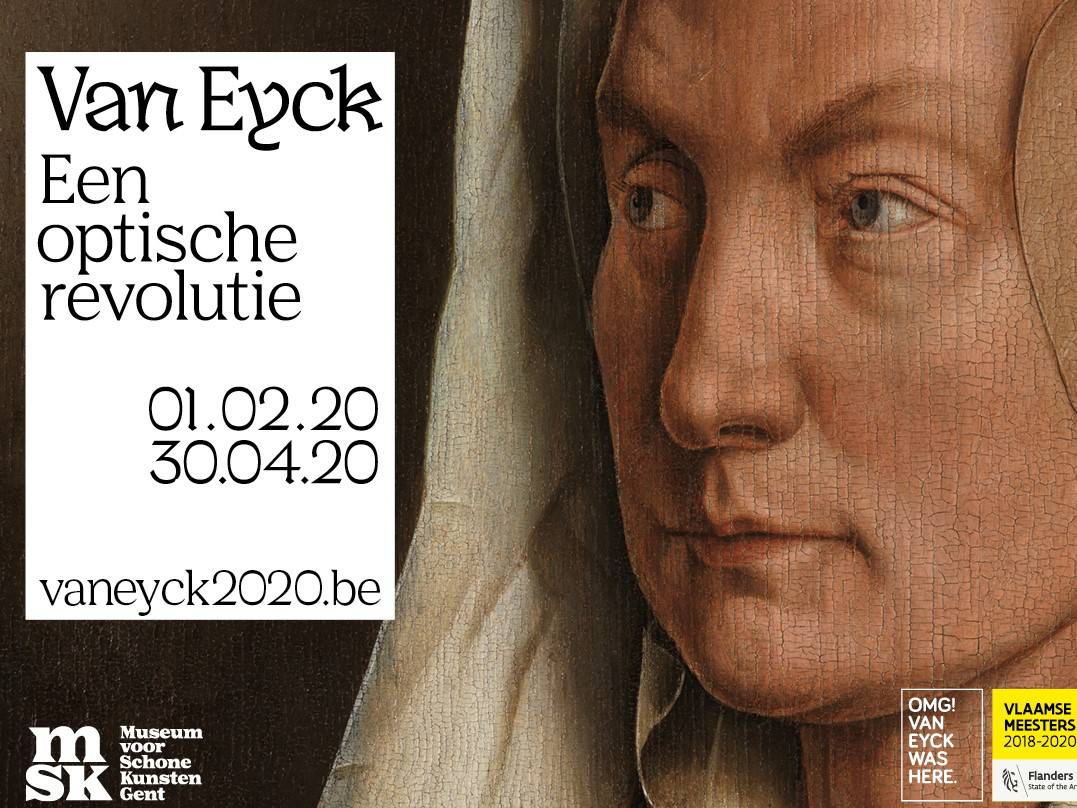 Expo Jan Van Eyck (een optische revolutie)  Groepsaankoop 2020  (Wegens immens succes graag inschrijven vóór 25 oktober)