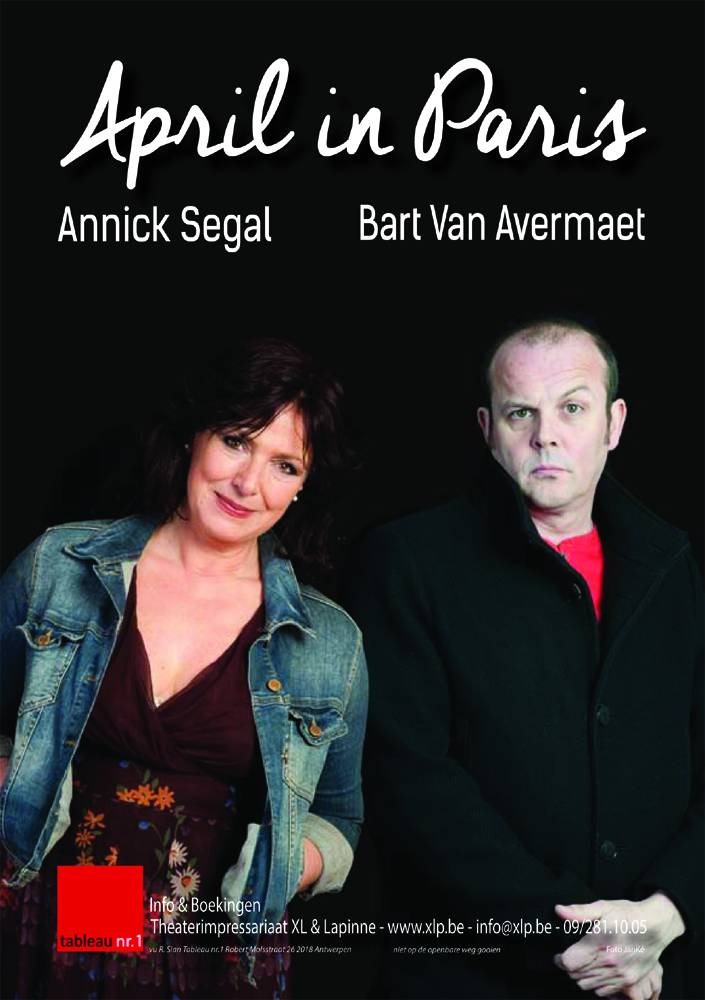 April in Paris - Annick Segal en Bart Van Avermaet