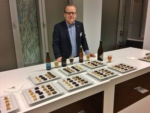 'Where beer meets chocolate' (met Werner Callebaut). VOORAF INSCHRIJVEN.