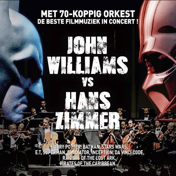 De beste filmmuziek in concert! John Williams vs Hans Zimmer.