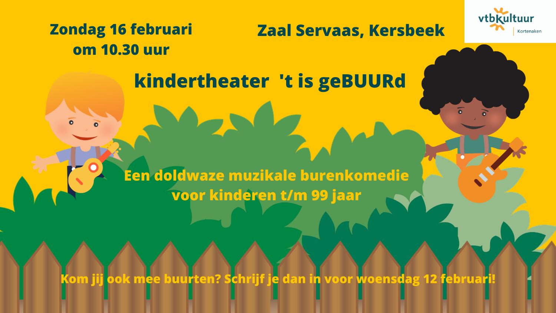 Kindertheater 't Is geBUURd