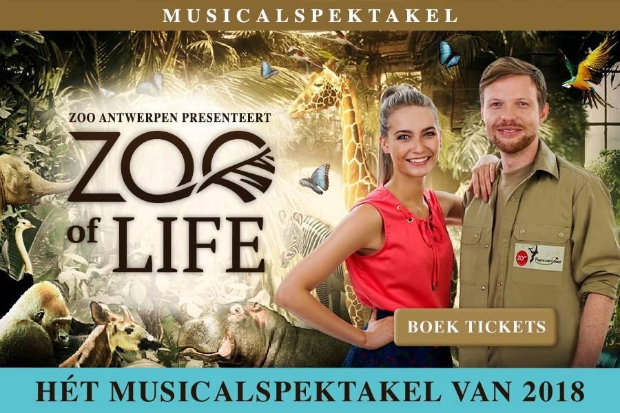 Musical 'ZOO of Life' in Antwerpen - UITVERKOCHT