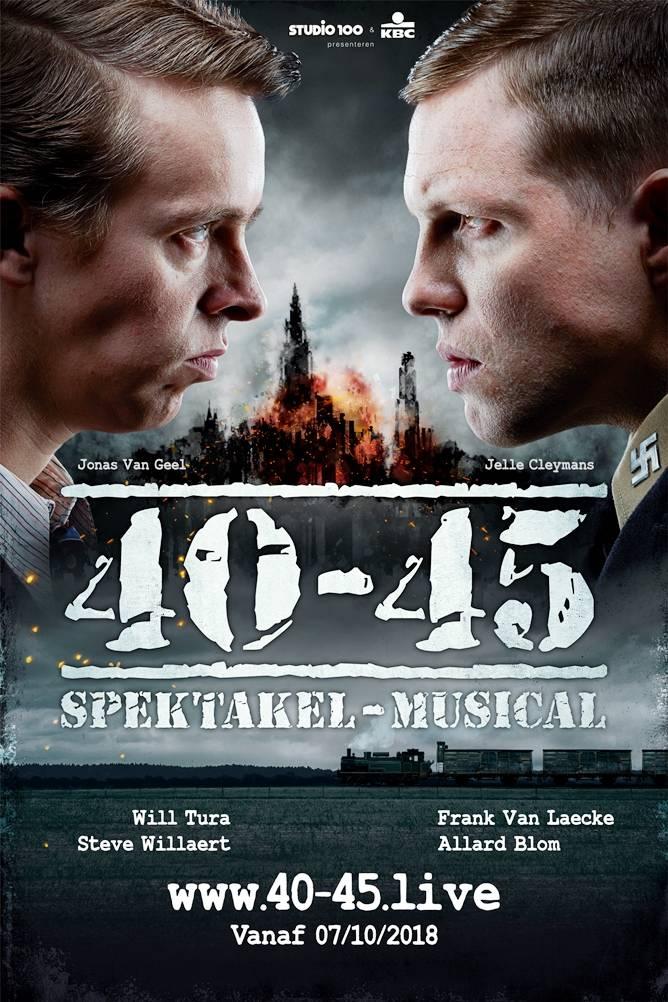 Spektakel-musical 40-45 - UITVERKOCHT