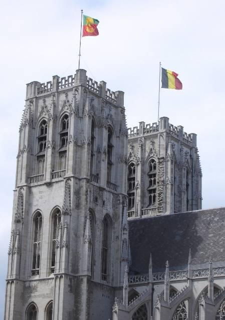 Sporen van Antwerpen in Brussel -