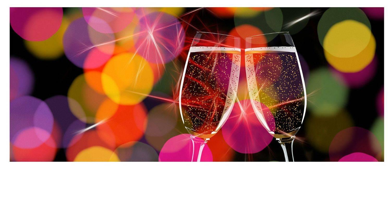 Nieuwjaar vieren met de buren