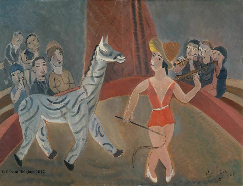 Geleid bezoek tentoonstelling Edgard Tytgat