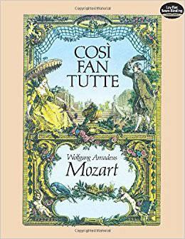 Mozarts opera 'Cosi Fan Tutte'