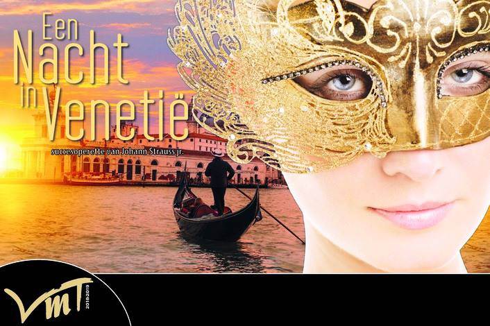Operette 'Een nacht in Venetië' van Johann Strauss Jr. - UITVERKOCHT
