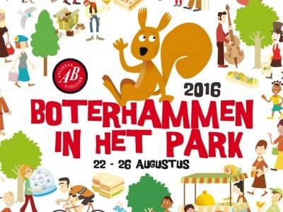 Boterhammen in het Park en wandeling in de Europawijk