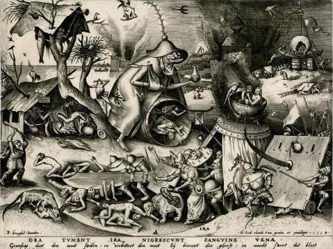 De wereld van Bruegel in zwart wit