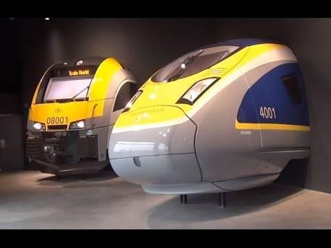 Galerij van de Mens en Train World