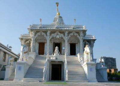 Jaïn-tempel en de historische textielcollectie van Katoen Natie.