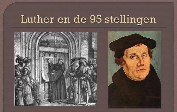 500 jaar Luther en het protestantisme