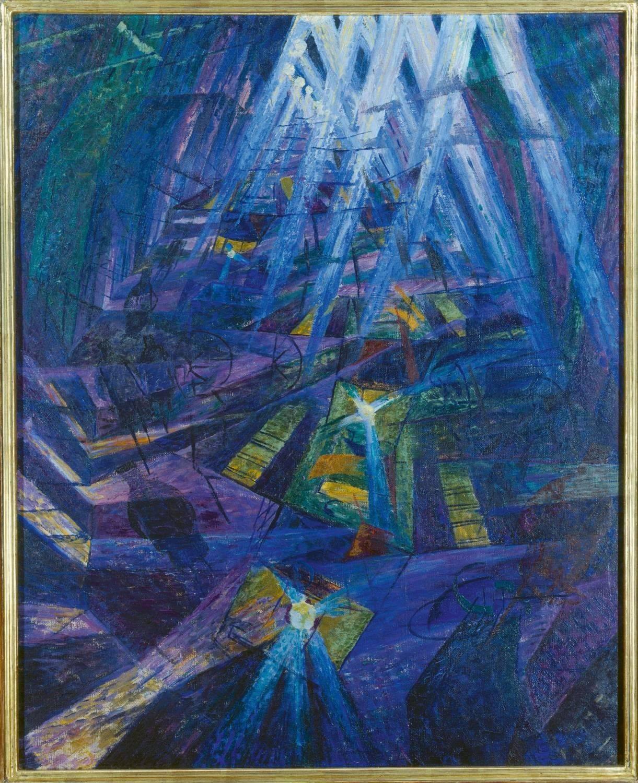 Nocturne kunstexpositie Avant Garde