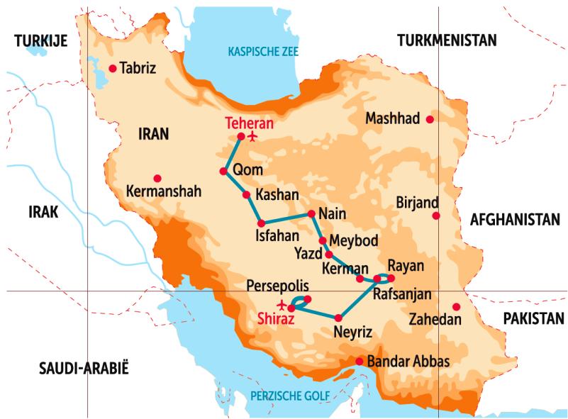12-daagse vtbKultuur-rondreis in IRAN