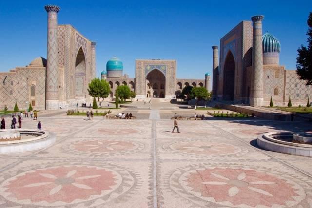 Gouden reis naar Samarkand