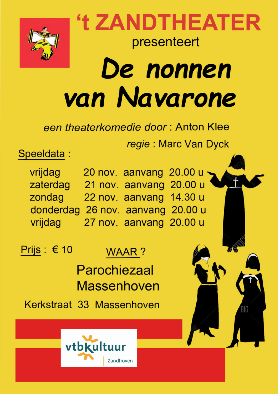 't ZANDTHEATER - De nonnen van Navarone