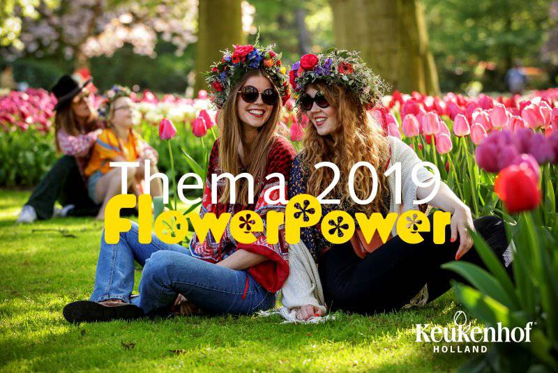 Bezoek 'Flower Power 2019' in Keukenhof - VOLGEBOEKT