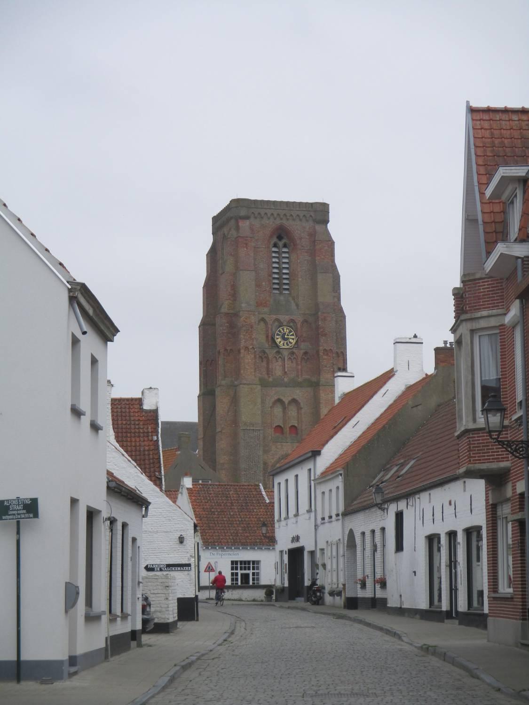 Oost Blankenberge en Lissewege, fietstocht