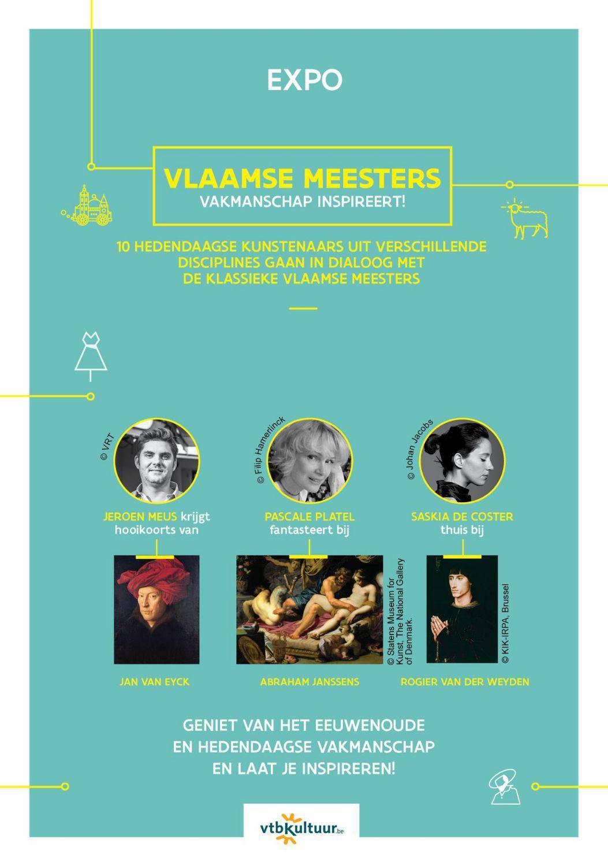 tentoonstelling 'de Vlaamse Meesters'