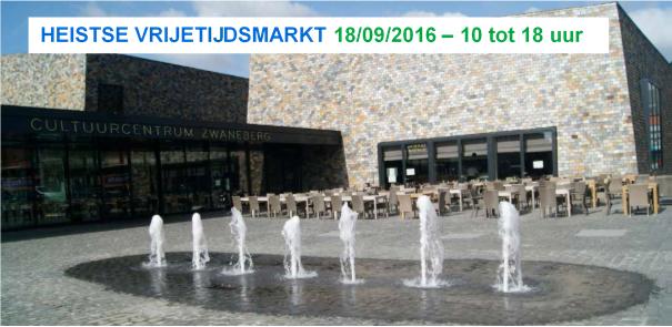 Vrijetijdsmarkt Heist-op-den-Berg