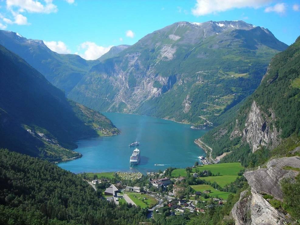 Noorwegen, het feest van de natuur