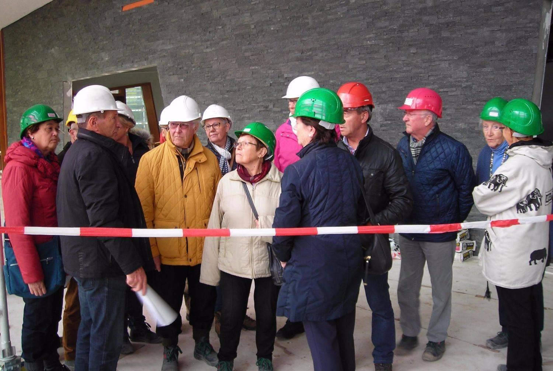 Bezoek ziekenhuis in aanbouw te Maaseik