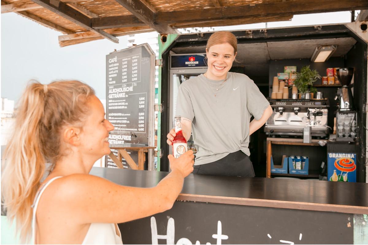 Strandbar Warnemünde Getränke