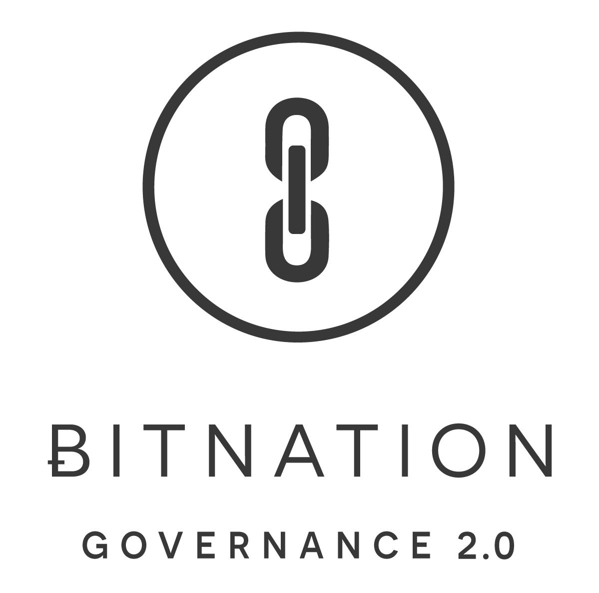 Bitnation logo square black