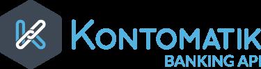 Kontomatik logo transparent bg tagline h100