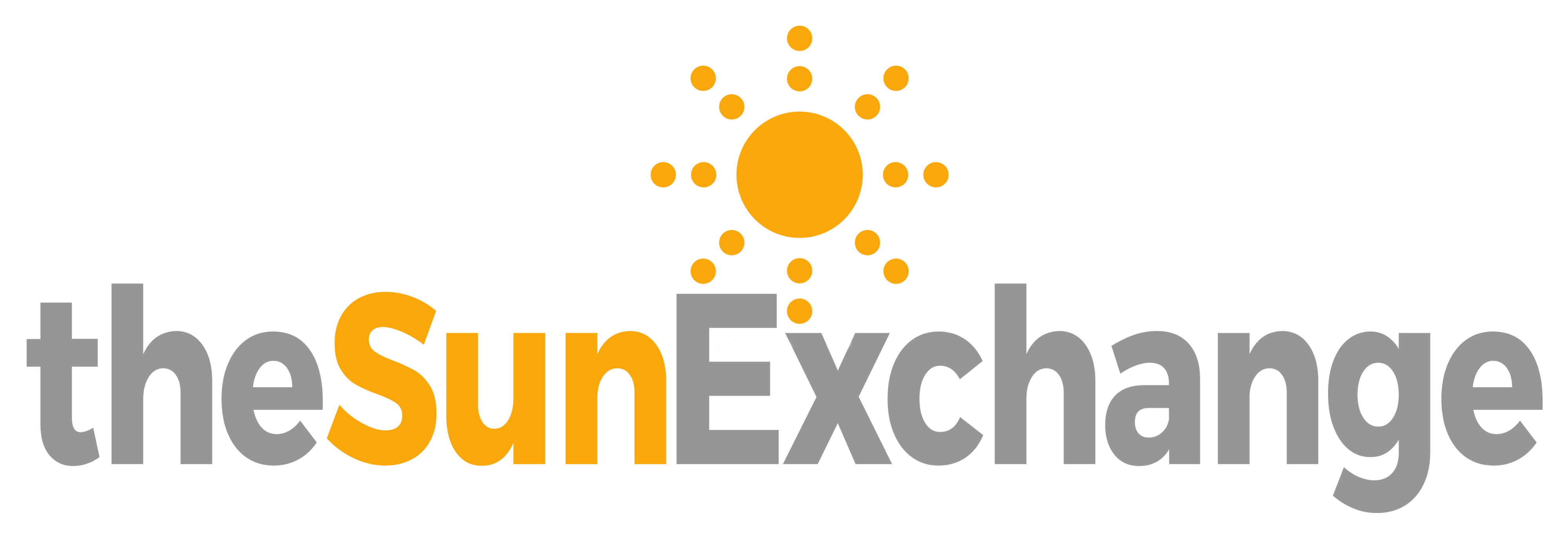 Sun exchange logo corrected