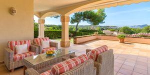 Apartmán s výhledem na moře v exkluzivní rezidenci u golfového hřiště v Santa Ponsa, Malorka (Thumbnail 1)