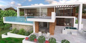 Villa in Santa Ponsa - Neubau Projekt im modernen Stil (Thumbnail 1)