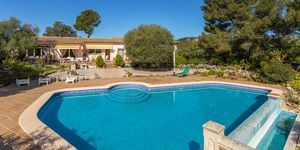 Mediterranean villa with panoramic sea views in Son Font (Thumbnail 1)