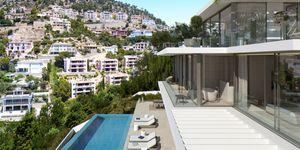Villa in Port Andratx - modernes Neubauanwesen mit Pool und Meerblick (Thumbnail 3)