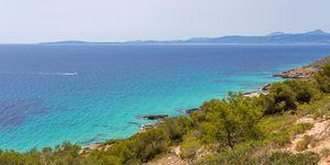Doppelhaushälfte  in erster Meereslinie an Mallorcas Südküste (Thumbnail 1)