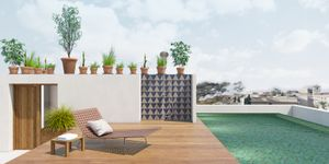 Penthouse in Palma - Moderne Immobilie mit privatem Pool (Thumbnail 6)