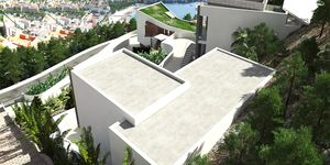 Neubau Villa über dem Ort mit sensationellem Panorama Meerblick (Thumbnail 4)