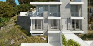 Neubau Villa über dem Ort mit sensationellem Panorama Meerblick (Thumbnail 3)