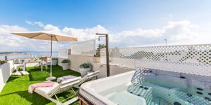Sea view penthouse for sale in Cas Catala (Thumbnail 1)