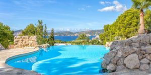 Meerblick Villa mit Gaesteapartment und vielen Terrassen in Santa Ponsa (Thumbnail 9)