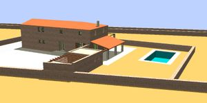 Grundstück mit Bauprojekt für eine Finca nahe Felanitx in ruhiger Lage (Thumbnail 6)