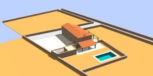 Grundstück mit Bauprojekt für eine Finca nahe Felanitx in ruhiger Lage (Thumbnail 5)