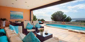 Luxusní vila s výhledem na moře v Costa d'en Blanes, Mallorca (Thumbnail 1)