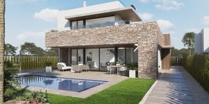 New development - villas close to the beach in Sa Rapita (Thumbnail 1)