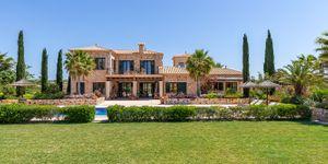 Nově postavený venkovský dům z přírodního kamene v Porreres s olivovým hájem (Thumbnail 1)