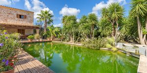 Naturstein-Finca bei Son Macia in Küstennähe mit Pool und Teich (Thumbnail 3)