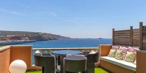 Exkluzivní apartmán s výhledem na moře s velkou terasou v Santa Ponsa (Thumbnail 7)